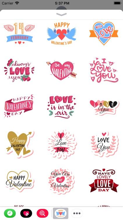 Valentine Day 2019 Stickers