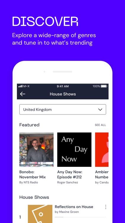 Mixcloud - audio & dj mixes screenshot-4