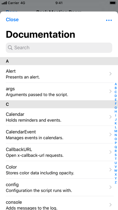 Scriptable review screenshots