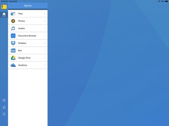 iZip Pro -Zip Unzip Unrar Tool Screenshots
