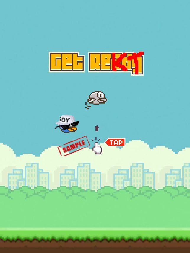 Bird 420 - MLG Flappy edition, game for IOS