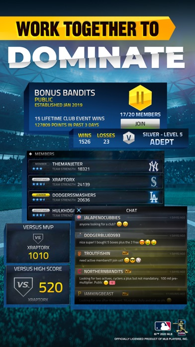 MLB Tap Sports Baseball 2020 screenshot 5