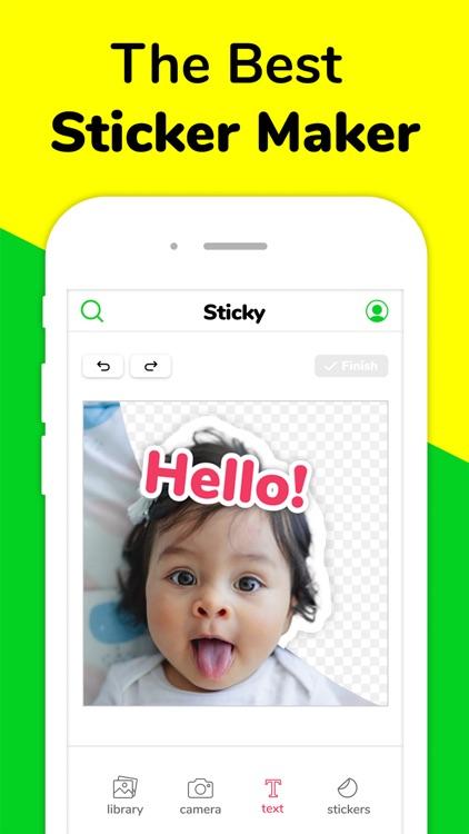 Sticky - Memes & Sticker Maker