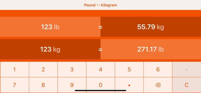 6 pfund in kg