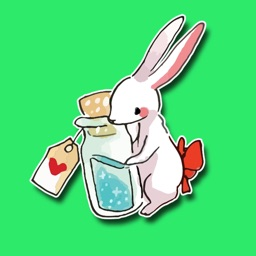 Looking Glass Bunnies Stickers