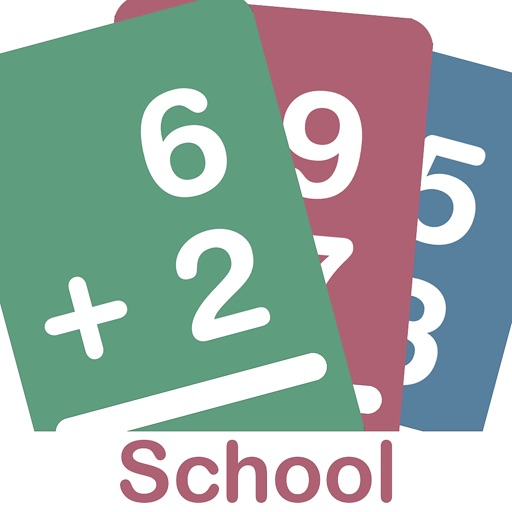 Big Math Flash Cards App
