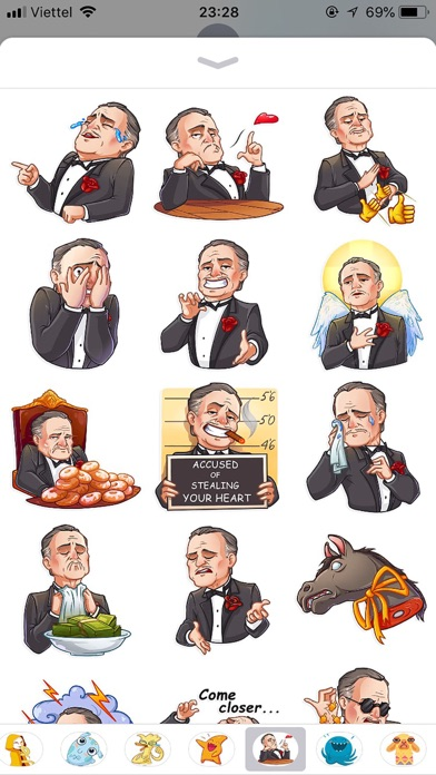 Business Style Funny Stickers screenshot 1