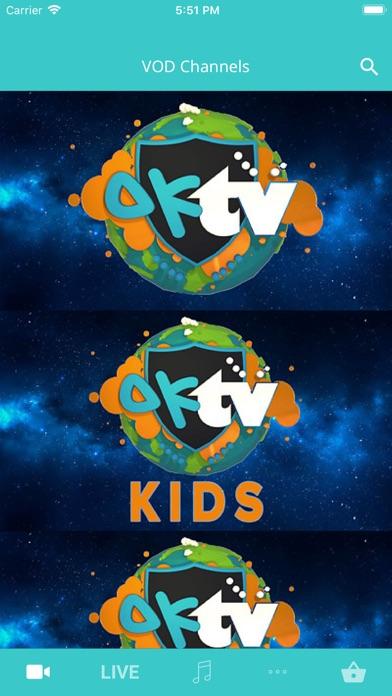 Screenshot #4 for OKTV  - A voice for children