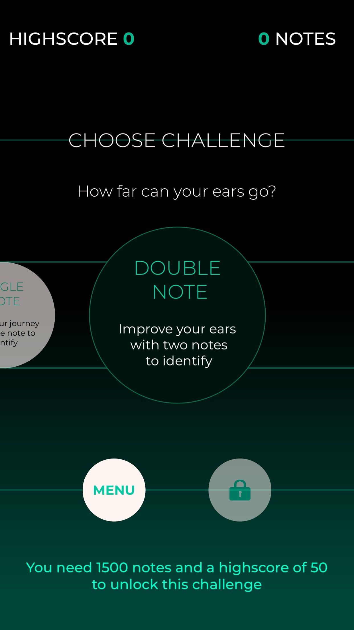 Screenshot do app Ping Song