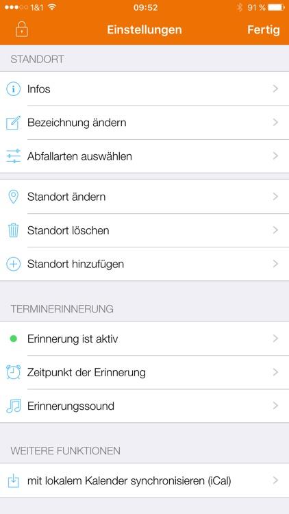 Abfall App RV screenshot-4