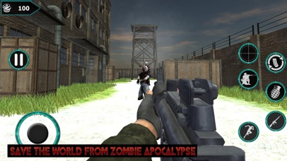 Zombies Deadly Target screenshot one