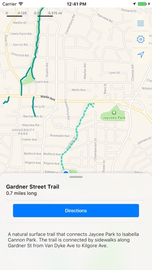 RGreenway Raleigh Greenways on the App Store