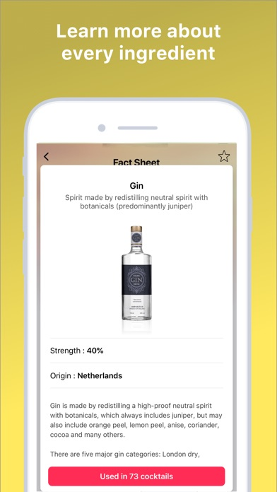Screenshot for Cocktail Flow - Drink Recipes in Lebanon App Store