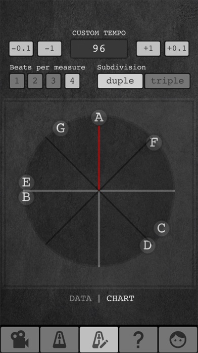 Screenshot for Tempo Finder for Film Scoring in Belgium App Store