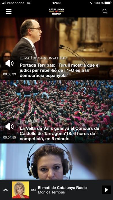 Screenshot #2 pour Catalunya Ràdio