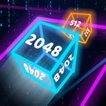 Neon Cubes 2048
