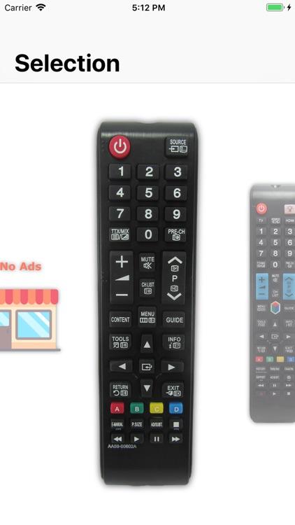 Remote for Samsung