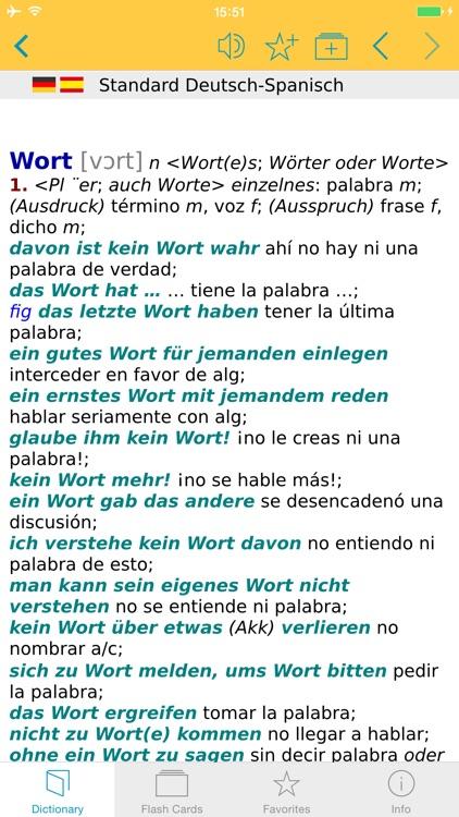Big German Spanish Dictionary