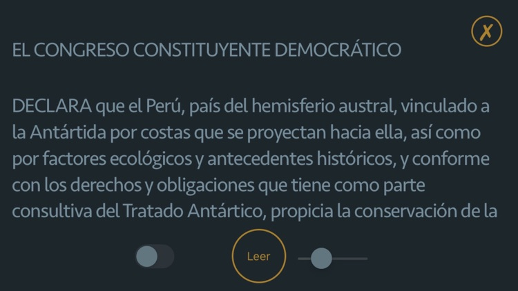 Constitución Política del Perú screenshot-4