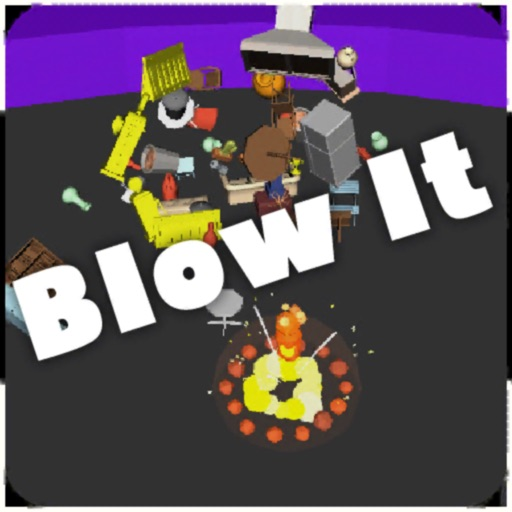 Blow It 3D icon