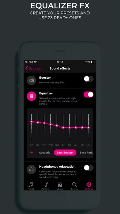 BASS BOOSTER,VOLUME BOOSTER,EQ Screenshot