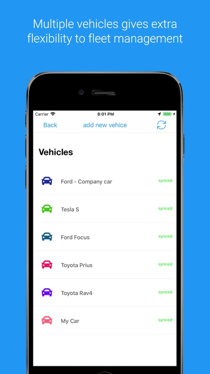 MyCarTracks Vehicle Tracker screenshot-2