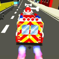 Paw Puppy Traffic Racing