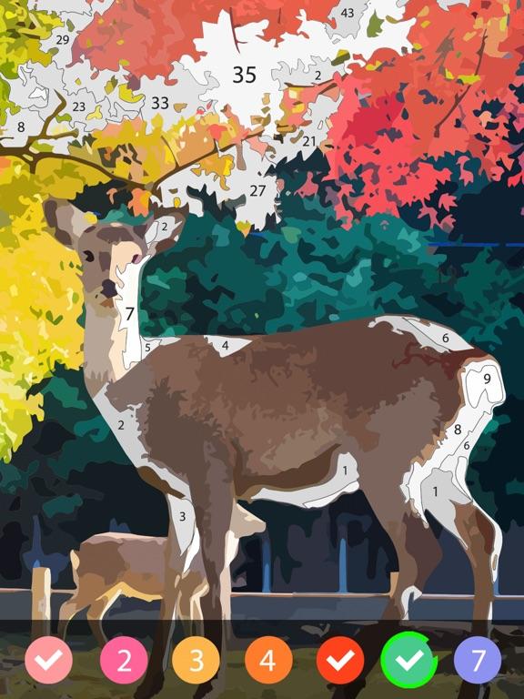 ColorPlanet: 油絵、数字で塗り絵のおすすめ画像4