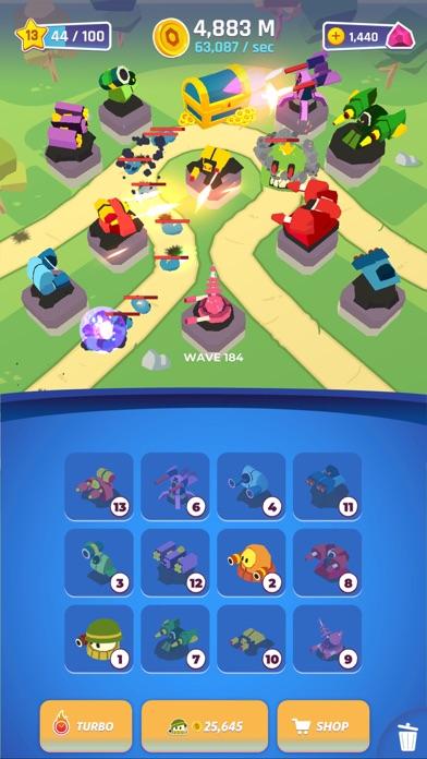 Merge Tower Bots screenshot 4