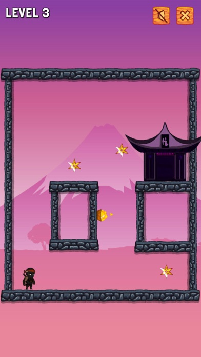 Ninja Jump Run Screenshot on iOS