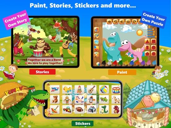 子供向けのディノ パズルゲームのおすすめ画像9