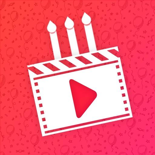 Birthday Video Maker Wid Song