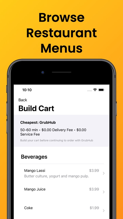 MealMe: The Cheapest Food App screenshot-8