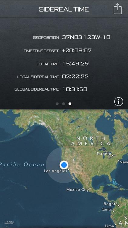 Star Clock+ – Sidereal Time screenshot-3