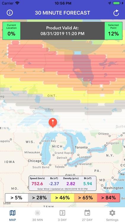 Aurora Forecast & Alerts screenshot-4