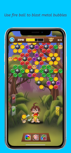 ‎Safari Rescue: Bubble Shooter Screenshot