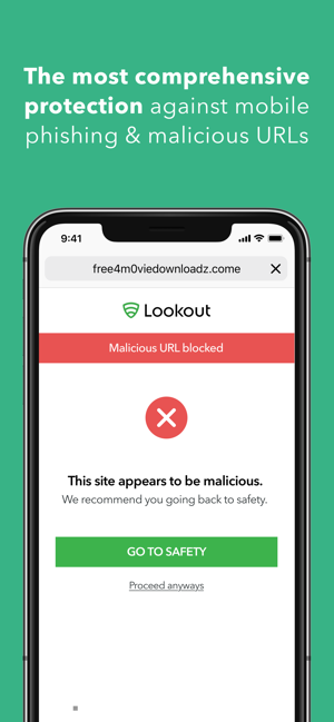 ‎Lookout Mobile Security Screenshot