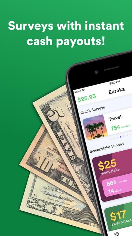 Eureka - Surveys for money!