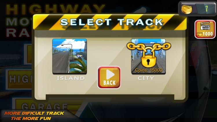 Highway Motorcycle Racing screenshot-3