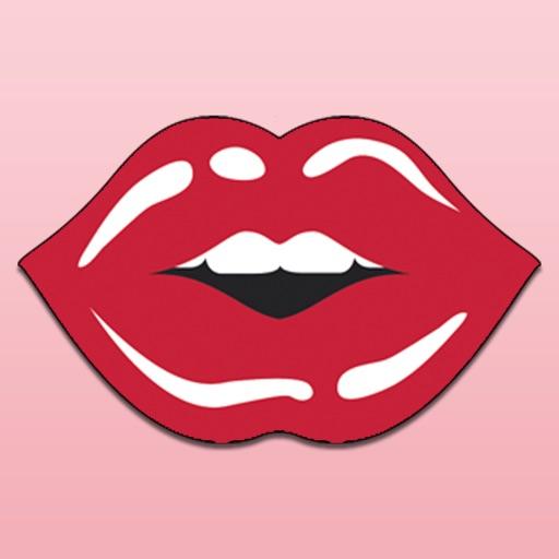 Beautiful Lips stickers emoji