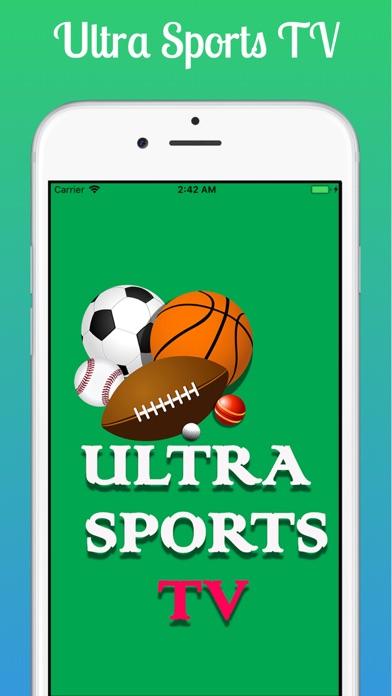 Ultra Sports TV screenshot #1