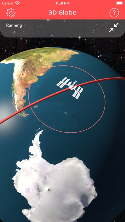 ISS Real-Time Tracker 3D