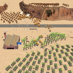 Desert War 3D - Strategy game