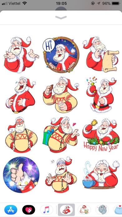 Christmas Santa Funny Stickers screenshot 1