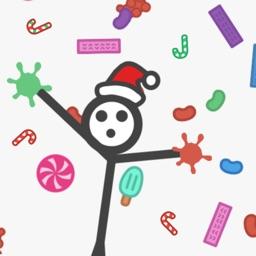 Sticky Stickman's Candy World