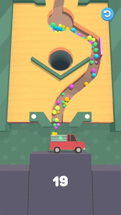 Sand Balls - Digger Puzzle screenshot-0