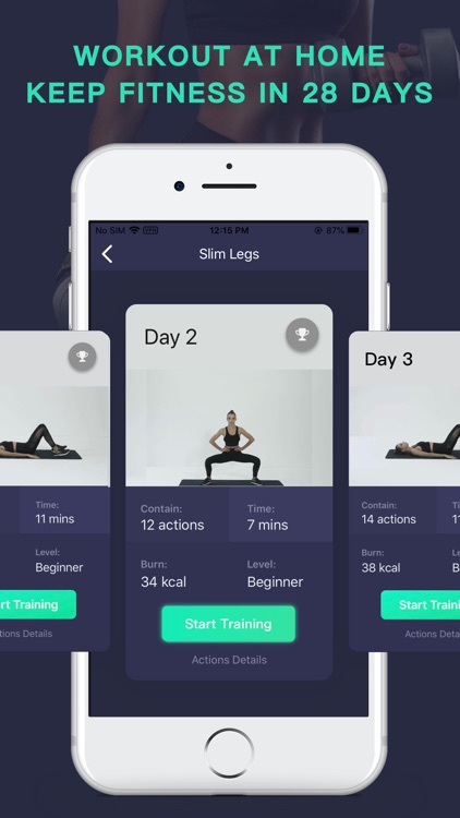 Fitness+ Workout &Exercise APP screenshot-4