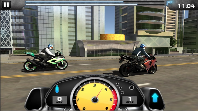 MotorBike Drag Racing screenshot-1