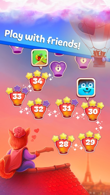Sweet Hearts Match 3 screenshot-5