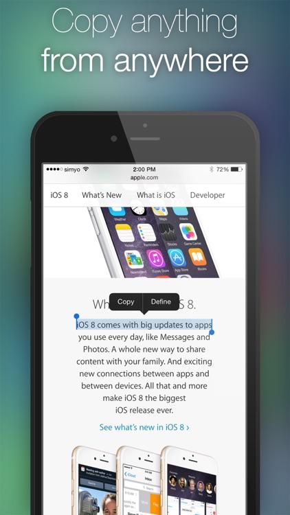 Clipboard Plus   Copy Widget screenshot-3